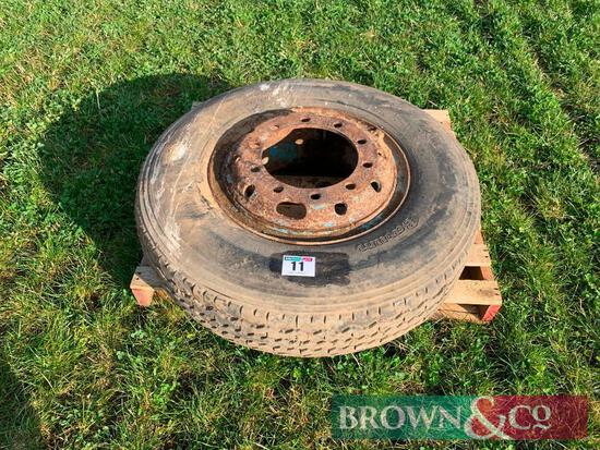 1 No. Tyre and Rim 10.00-R30