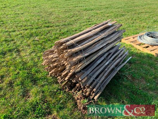Qty Wooden Fencing