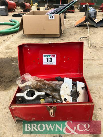Spalding Truecraft bearing puller kit