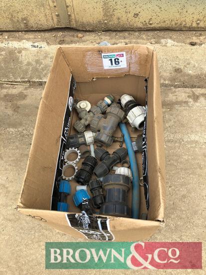 Water pump fittings