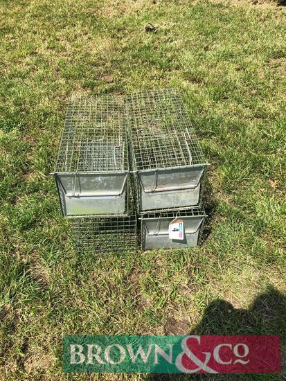 Quantity rabbit traps