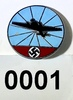 Nazi air defense enamel pin
