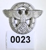 Police officer cap eagle