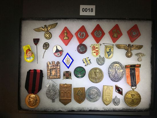 Hitler Youth event badges