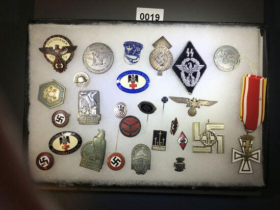 NSDAP and Hitler Youth pins