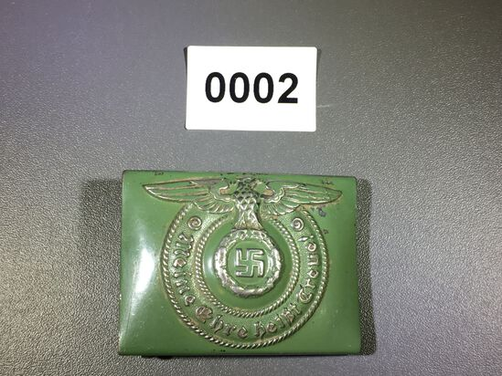 Nazi SS soldier belt buckle