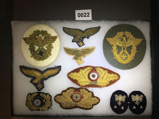 Nazi General patches