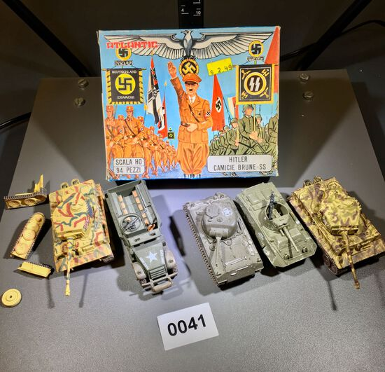 HITLER  AND GERMAN TOY SOLDERS
