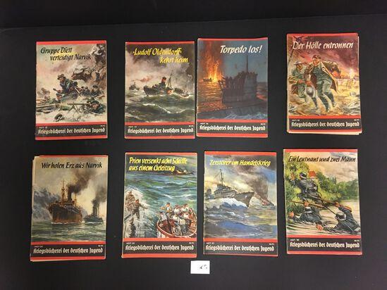 Lot of 8 German Propaganda Books