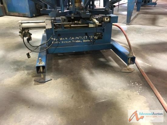 M&R Gauntlet ?S? Textile Screen Printing System