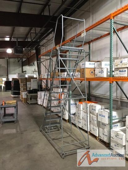 Portable Warehouse Ladder