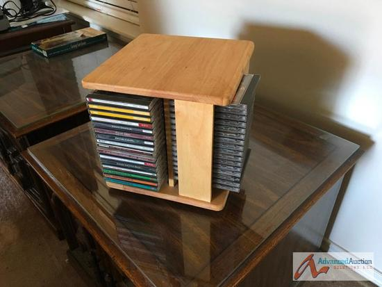 CD Holder and CD's