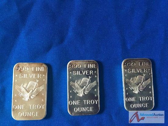 .999 Fine silver One Troy ounce