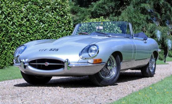 1962 Jaguar E-Type Series 1 3.8 Roadster