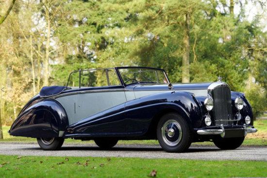 1950 Bentley Mk VI Convertible
