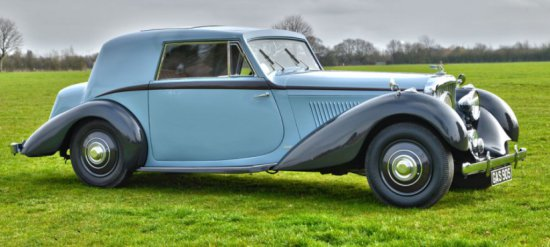 Bentley 4 1/4 Sportsmans Coupe
