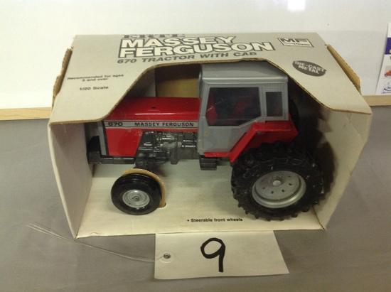 Massey Ferguson 670 w/cabErtl1-20 Scale