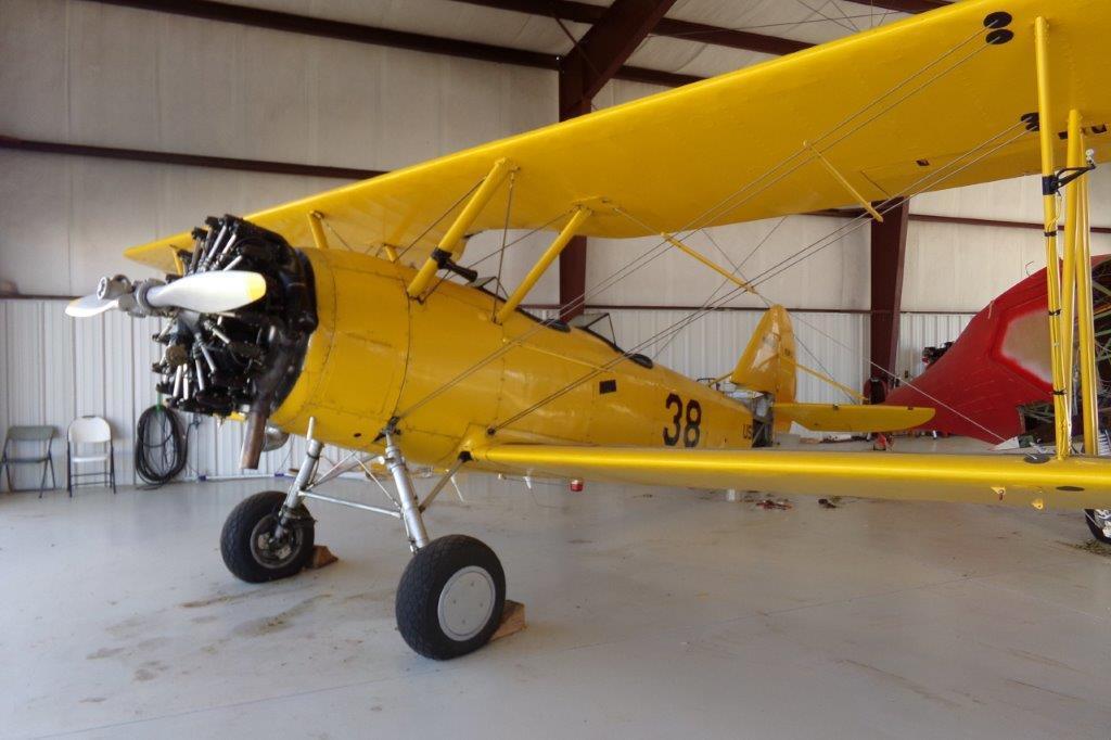 1941 Naval Aircraft Factory N3N-3 N-45121 S/N 2741