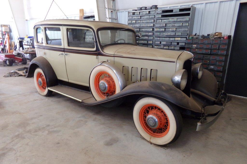 1932 REO Special Sport Sedan, 6-Cylinder Flathead Engine, Manual Transmission, Suicide Doors, Rear L