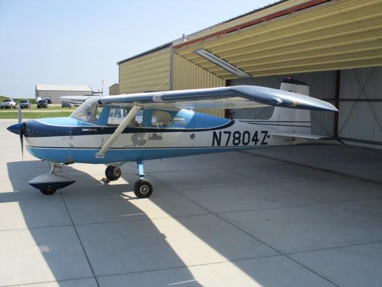1963 Cessna 150c, N-7804z, S/n 15059904, T.T. 3,343 Hrs.