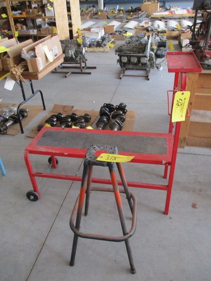 (lot) Bench & Stand