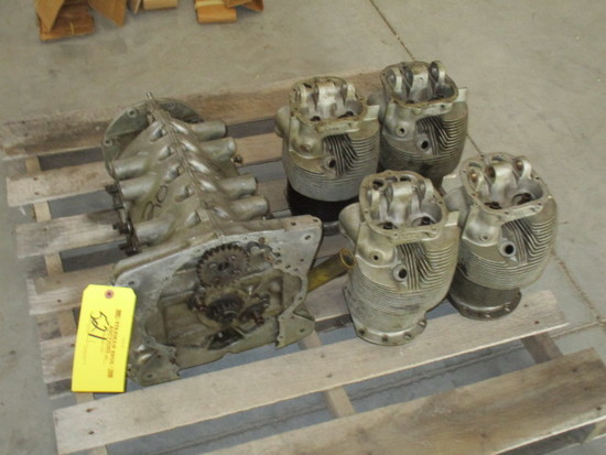 Lycoming O-290 Ground Power Case, Crank, Cam & Cylinders