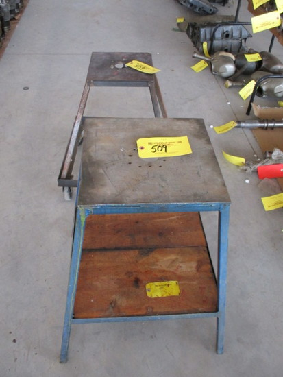 (2) Engine Build Stands