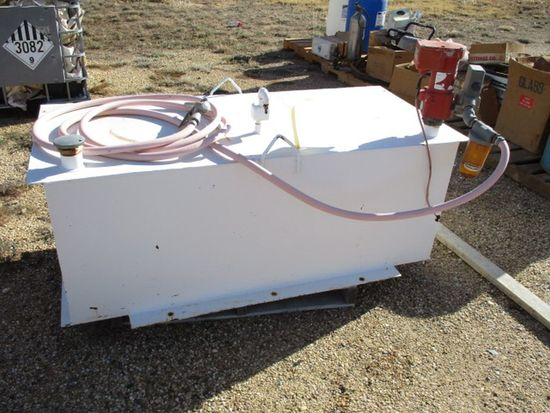 PICKUP BED FUEL TANK W/ELECT PUMP
