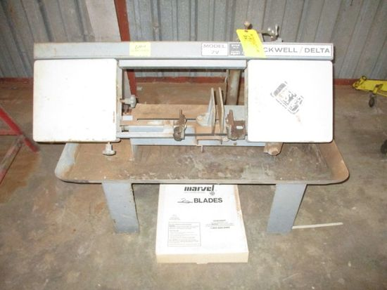 ROCKWELL DELTA HORIZONTAL BAND SAW