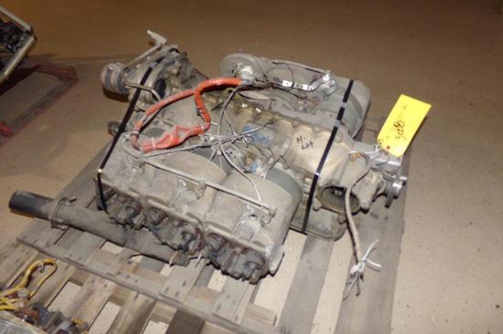 Continental TSIO-520-B Crash Damaged Engine