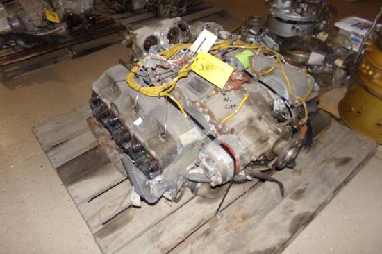 Continental IO-520-CB Crash Damaged Engine