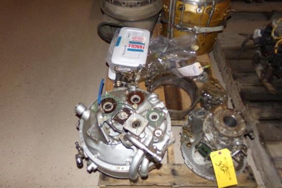 Pratt & Whitney PT6A-114A Disassembled/Damaged Engine