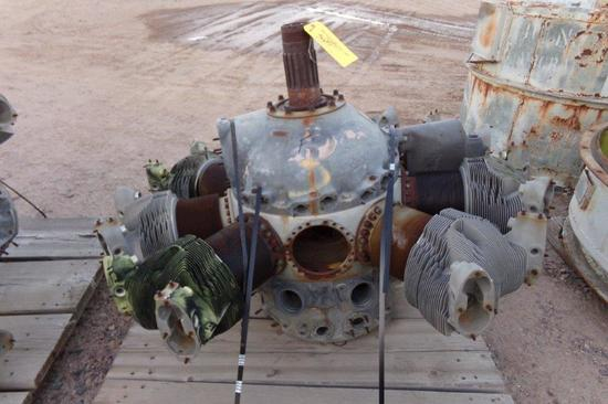 Radial Engine Case & Cylinders