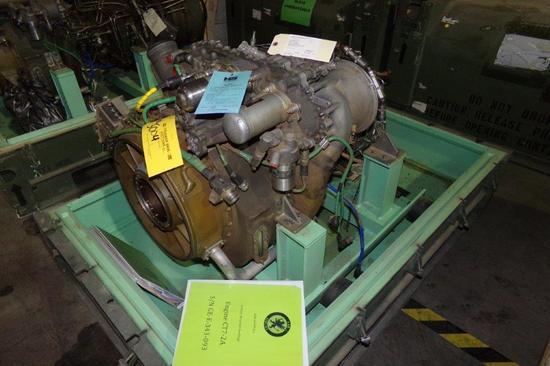 GE CT7-2A ENGINE (NO POWER TURBINE MODULE)