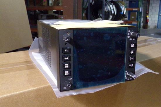 BENDIX IN-862A RADAR INDICATOR 3614477-8601 (REPAIRED)