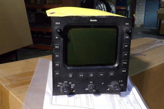 BENDIX IN-2025B RADAR INDICATOR 4001670-2511 (REPAIRED)