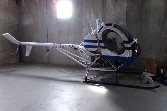 1986 SCHWEIZER 269C HELICOPTER PROJECT N-717CN S/N S1206
