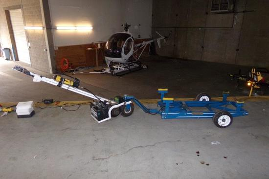PARAVIAN HELICOPTER JR 269/300C HELICOPTER DOLLY, BATTERY POWERED DRIVE