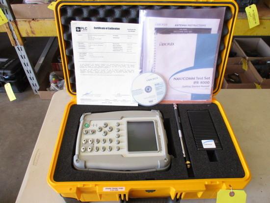 AEROFLEX IFR-4000 NAV/COMM TEST SET W/ELT