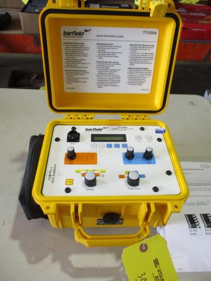 BARFIELD TT-1200A TURBINE TEMP TEST SET P/N 101-00930