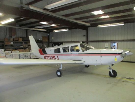 1966 PIPER PA-32-300 CHEROKEE SIX N-203SJ, 6,850 HRS. TOTAL TIME, LYCOMING IO-540-K1A5 1,775 HRS. S.