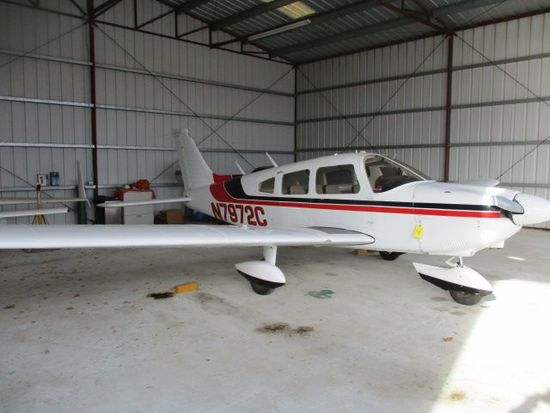 1976 PIPER PA-28-181 ARCHER II N-7972C, 4,240 HRS. TOTAL TIME, LYCOMING O-360-A4M 2,264 HRS. S.M.O.H