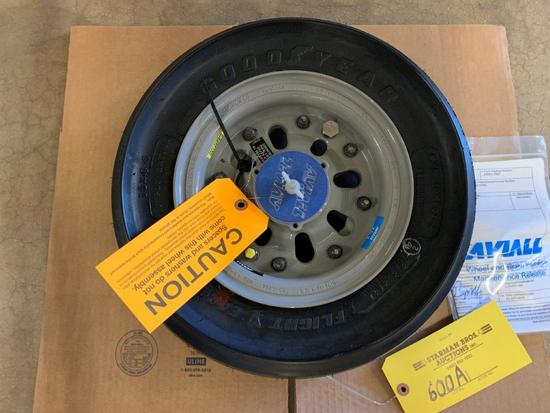 CITATION X NOSE WHEEL ASSY 3-1538-1 (REPAIRED)