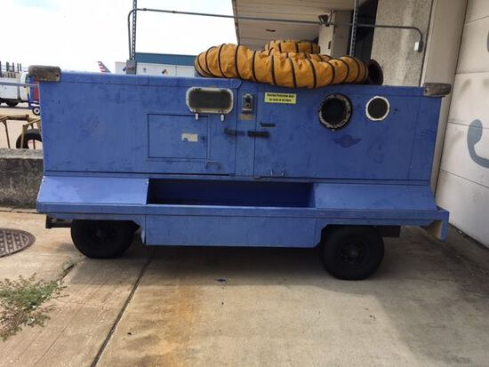 Trilectron MDL DAH400DPE Heater Cart