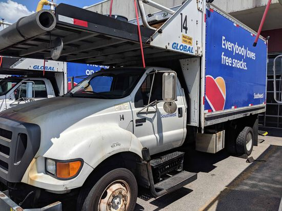 Ford F-650 Provisioning Truck # 14