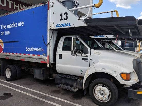 Ford F-650 Provisioning Truck # 13