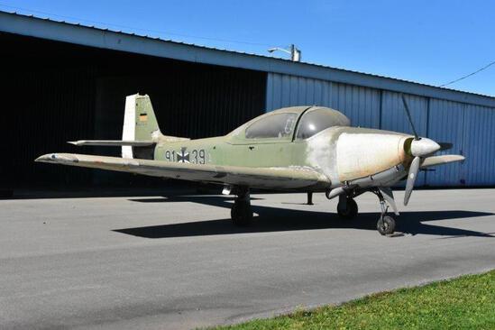 1960 PIAGGIO FOCKE-WULF FWP-149DA2 N39Z, S/N 161