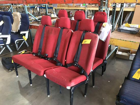 S-76 3-PERSON BENCH SEAT 2455001-1 (INSPECTED)