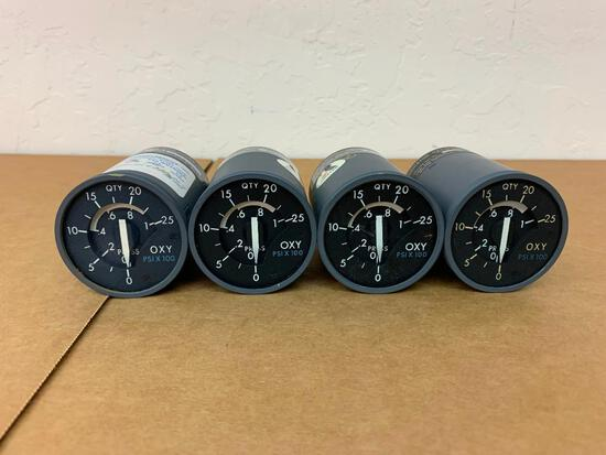 MD-11 OXYGEN PRESSURE INDICATORS 523298 (REPAIRED OR INSPECTED)