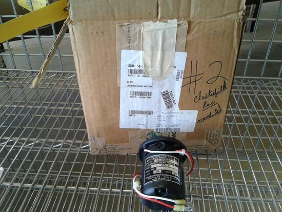 BEECHCRAFT LANDING GEAR MOTOR, 58-380090-1, (OVERHAULED)